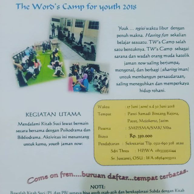 The Word's Camp for Youth